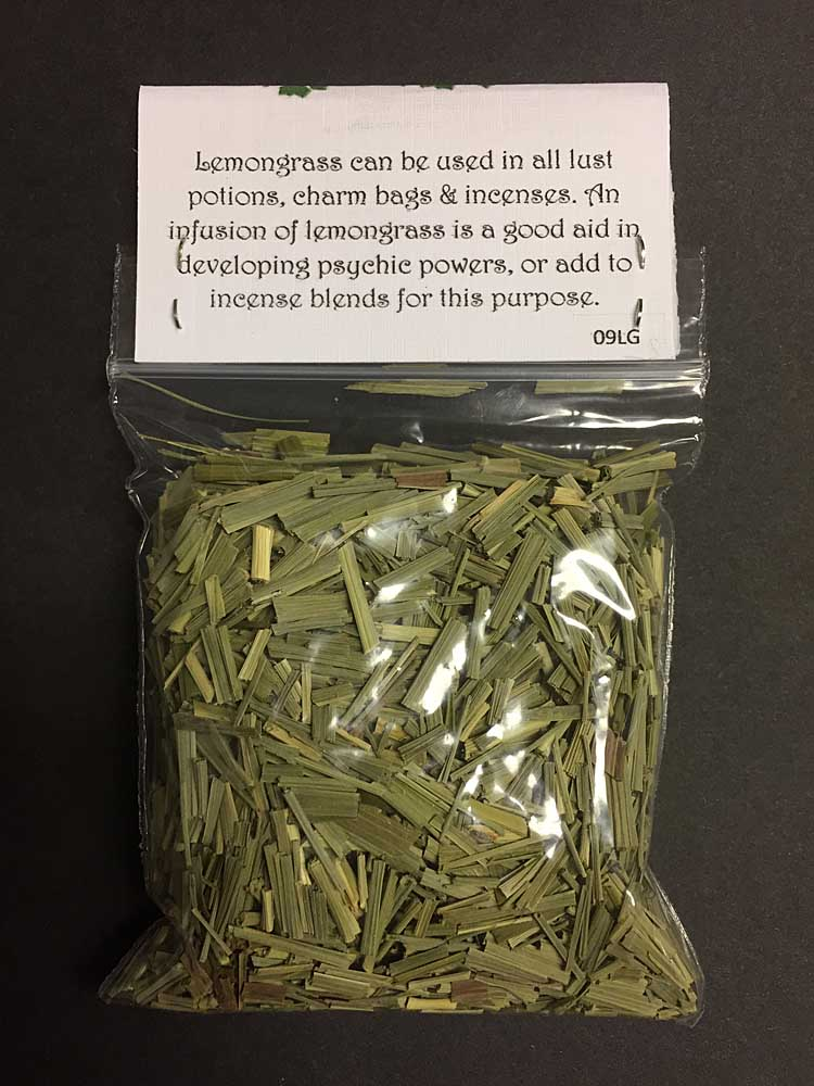 LEMONGRASS Dried Herb Spell Craft Magical Herb